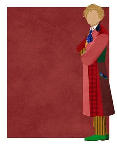 Doctor Who minimalist: Colin Baker