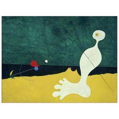 MIRÒ - Person throwing a stone at a bird 80x60 cm #artprints #interior #design #Miró Scopri Descrizione e Prezzo http://www.artopweb.com/autori/joan-miro/EC21702