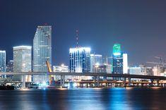 Miami Beach at Night Miami Beach, Miami Florida, South Beach, South Florida, Places In Florida, Florida Beaches, Barack Obama, Alaska, America City