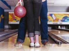 Tossing a heavy ball down a wooden lane in an attempt to knock down 10 pins is a time-honored American dating ritual where heels are strictly forbidden. Sign us up.