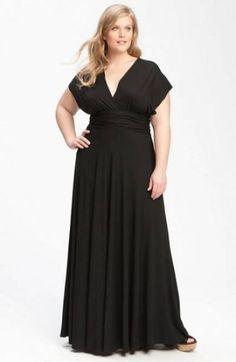 Opções de vestidos de festa para convidadas plus size Image: 2