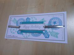 Geburtstagskarte für die Nachbarin