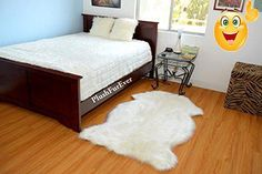 This is one of our luxurious plush Warm White #Realistic sheepskins shape faux fur home decor. Perfect for baby girl nursery rug. It is made from Acrylics and Po...