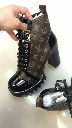 40d20690bc0d Louis Vuitton LV lady boots More information,please contact This is so  clean.like ugh 💜