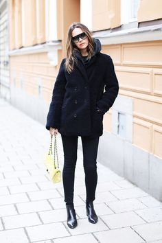 28 Outfit Ideas to Try in February  #purewow #fashion #outfit ideas #winter #style #shopping