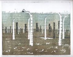 #aquatint #holocaust #Auschwitz