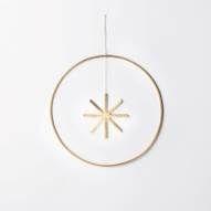 Winterland Brass Star - Large