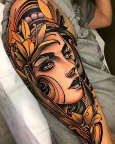 NJoy quality - tattoome: Fede Almanzor - My list of best tattoo models 42 Tattoo, Body Art Tattoos, Girl Tattoos, Sleeve Tattoos, Tattoos For Guys, Tattoos For Women, Portrait Tattoos, Leg Tattoos, Face Tattoos