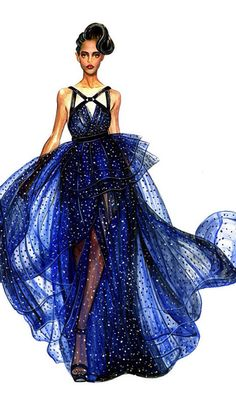 So pretty fashion sketch