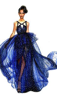 So pretty fashion sketch