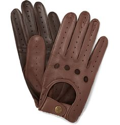 Dents Leather Driving Gloves | MR PORTER