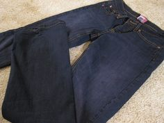 How to re-dye jeans darker.  Used the instructions for the washing machine.  Works best on jeans with some stretch.  Otherwise use more black.