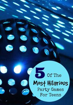 10 Of The Most Hilarious Party Games For Teens Planning a party and need some game ideas? I've found some of the most hilarious party games for teens to keep everyone laughing and having fun indoors or outdoors! Teenage Party Games, Boy Party Games, Indoor Party Games, Teenage Parties, Halloween Party Games, Sleepover Party, Slumber Parties, Spa Party, Party Games For Tweens