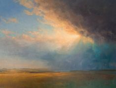 Commission contemporary landscape paintings, how to commission a painting. Discuss landscape painting commissions- Ken Bushe D. City Landscape, Abstract Landscape, Landscape Paintings, Landscapes, Seascape Art, Sky Painting, Aqua, Sky And Clouds, Contemporary Landscape