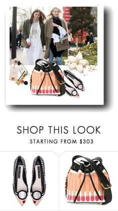 """Spring Forward"" by ajiyfun ❤ liked on Polyvore featuring Alice + Olivia and Moschino"