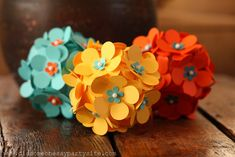 These would be cute with a flower theme for young women's or for table decorations