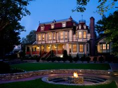 Celebrate America's rich history and great architecture at one of these historic bed and breakfasts.