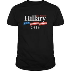 Hillary For Prison T-Shirts, Hoodies, Sweaters
