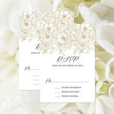 Wedding Suite, Wedding Rsvp, Floral Wedding, Christmas Wedding Invitations, Wedding Response Cards, Modern Shower, Custom Tags, Etsy App, Rustic Christmas