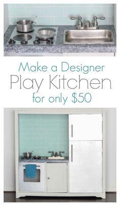 designer play kitchen