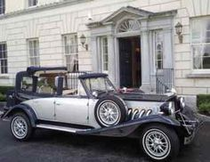 Here we present our convertible navy sapphire and silver vintage beauford wedding cars for your wedding in Irelan cream leather interior Wedding Car Hire, Spa Offers, Formal Gardens, Wedding Coordinator, Leather Interior, Antique Cars, Castle Weddings, Navy, Ireland