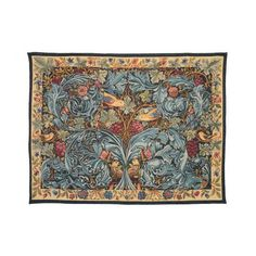 The Vine and Acanthus Tapestry is a beautiful hanging wall tapestry, part of the tapestry collection at English Heritage. Hang using our tapestry rods. Buy the Vine and Acanthus Tapestry online from English Heritage shop. Bayeux Tapestry, Medieval Tapestry, Tapestry Fabric, Woven Wall Hanging, Hanging Art, Tapestry Wall Hanging, Weaving Art, Tapestry Weaving, Wooden Garden Furniture