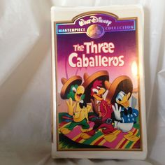 The Three Caballeros (VHS, 1997) Donald Duck Masterpiece Collection