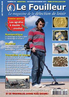 Le Fouilleur, le magazine de la détection loisir en kiosque