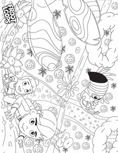 Let your kids color their way to the top of the Colorful Forest with Toucan Sam, and they'll find where red Froot Loops come from! Froot Loops, Coloring Pages For Kids, Doodle Art, Monster High, Digital Illustration, Doodles, Snoopy, Spicy, Colorful