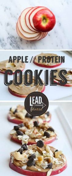 Apple & Protein Cookies