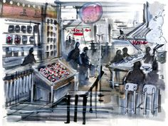 blade runner Anthony Bourdain's Food Market Takes Shape - The New York Times