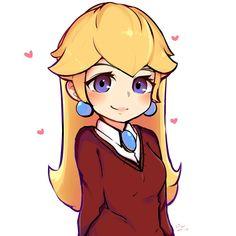 Super Mario Bros, Super Mario Brothers, Super Smash Bros, Metroid, Game Character, Character Design, Peach Mario, Nintendo Princess, Princesa Peach