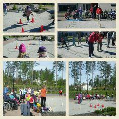 Senjorit haastoi juniorit mukaviin aamupäivä kisailuihin toukokussa, aurinko houkutteli myös yleisön ulos! #hyvaelama
