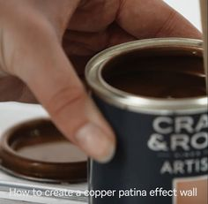 Follow our step by step how to guide to create a weathered, aged copper effect with help from Homebase and Craig and Rose. Upcycle anything, from a couple of plant pots to painting an entire wall.