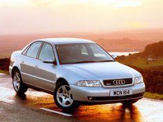 Audi A4 Sedan UK-spec (B5,8D) '1997–2000