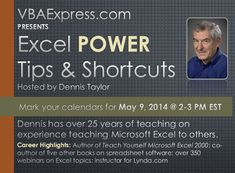 While using Microsoft Excel have you ever thought to yourself there must be a faster way what I am trying to do. Should this really take hours, or worse yet, days to complete? The answer is no, it should not. What you need is to know the most used and most effective Microsoft Excel POWER Tips and Shortcuts. Then you will save time, measured in hours and days.