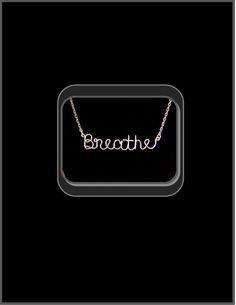 word jewelry script jewelry Name Jewelry by RosesWireArtJewelrY, $34.00