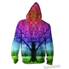 : \/\/ {O} \/\/ !! ::NEW!   STAR TREE ZIP-UP HOODIE designed by LARRY CARLSON. Buy now at : www.larrycarlson.rageon.com