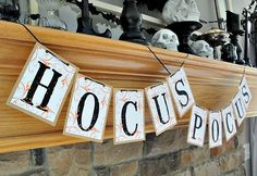 There's no better way to say it than with this HOCUS POCUS Halloween Double…