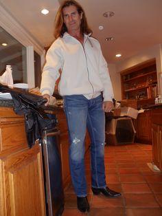 "Fabio Lanzoni ""I can't believe it's Keinejad Jeans…;)"" |"