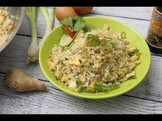 Tojásos sült rizs recept | APRÓSÉF.HU - receptek képekkel Wok, Fried Rice, Potato Salad, Grains, Potatoes, Chinese, Ethnic Recipes, Youtube, Potato