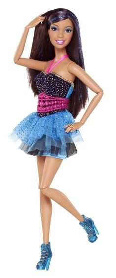 Amazon.com: Barbie Fashionista Nikki Doll, New for 2013: Toys & Games