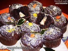 Érdekel a receptje? Kattints a képre! Muffin, Breakfast, Erika, Food, Gastronomia, Muffins, Hoods, Meals, Cupcake
