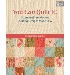 Shows you how to create free-motion quilts. This practical and easy-to-follow guide to creating machine-quilting designs offers step-by-step instructions to make feathers, create curved cross-hatching, and fit a design to the quilt border - on either a long-arm or home showing machine.
