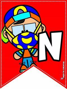 Banner, Clip Art, Children, Drawings, Creative, Character, Buntings, Sketches, Preschool Decor