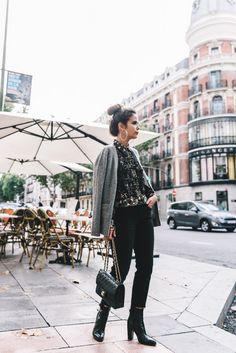 Time for Fashion » 7 maneras de llevar vaqueros negros