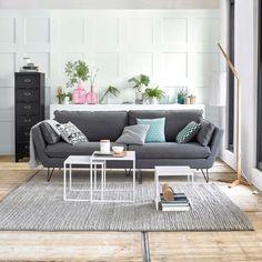 Canapé fixe 3, 4 ou 5 places, coton, Bristal La Redoute Interieurs | La Redoute Mobile