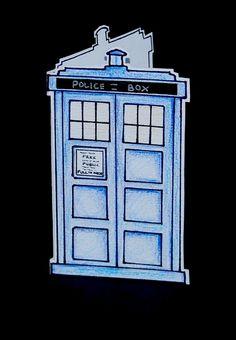 Doctor Who TARDIS Card.