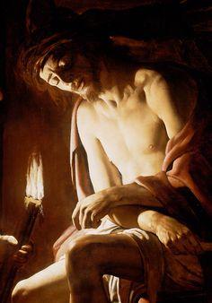 Gerard van Honthorst - Christ Crowned with Thorns (Detail)