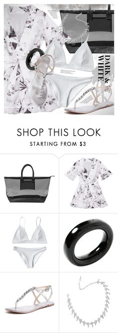 """""""Dark & white ensemble"""" by vn1ta on Polyvore featuring Stephanie Johnson, Tiffany & Co. and Siren"""